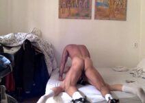 Sexo gay violento novinha transando com o colega escondido